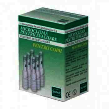 Microclisma Copii 3 g x 6 - AMC Pharma