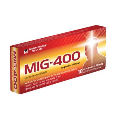 MIG 400 mg -cpr.film x 10 - Berlin Chemie