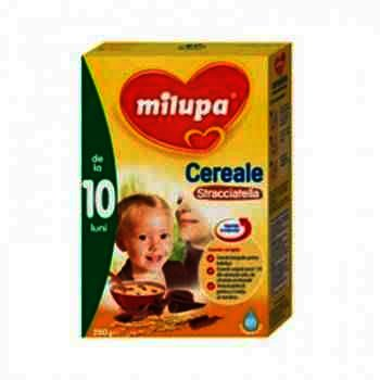 Milupa Cereale Lapte/Stracciatella + 10 luni x 250 g