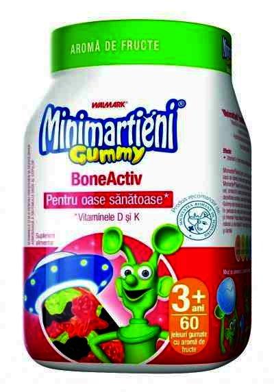 Minimartieni Gummy BoneActive 60 jeleuri NEW