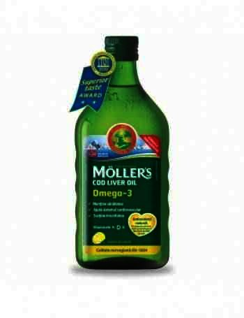 Mollers Cod Liver Oil Omega 3 x 250 ml