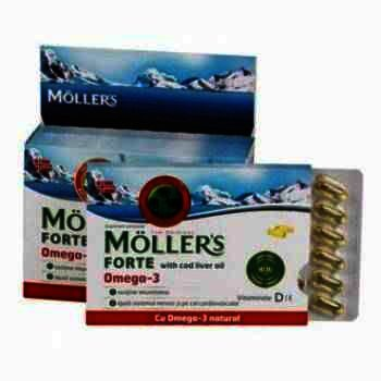 Mollers Forte Omega -cps x 150