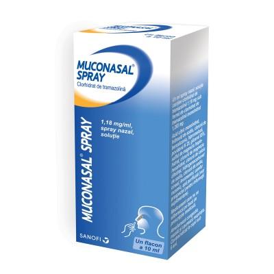 Muconasal Plus Spray 1.18 mg x 10 ml - Sanofi Romania