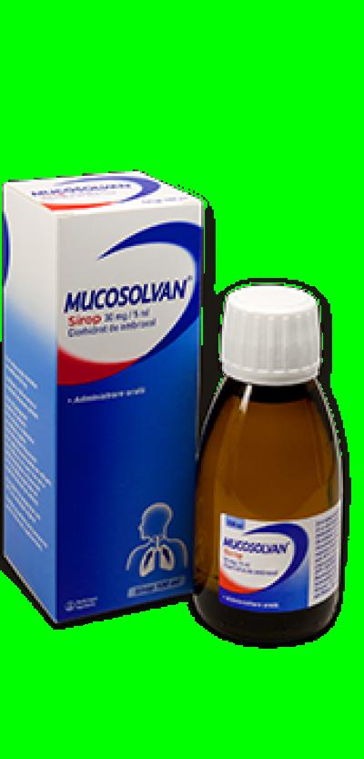 Mucosolvan 30mg/5ml sirop x 100 ml