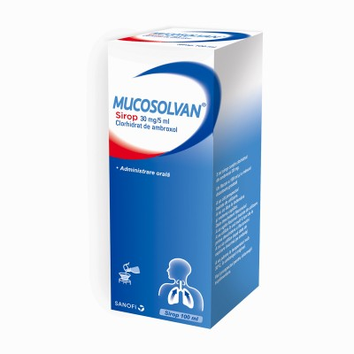 Mucosolvan 30mg/5ml sirop x 100 ml - Sanofi