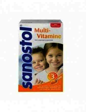 Multi Sanostol fara Zahar x 260 g - Nycomed