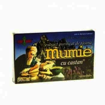 Mumie Extract Purificat Rasina + Castan -cps x 60