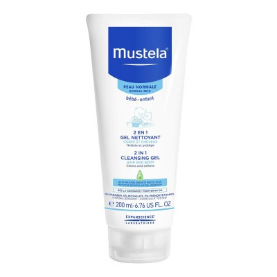 Mustela Baby Gel de Curatare Par si Corp x 200 ml