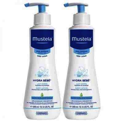 Mustela Baby Pack (Fluid Curatare x 300 ml + Hydra Bebe Lotiune x 300 ml)