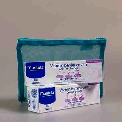 Mustela Pachet Vitamin Barrier 50 ml x 2