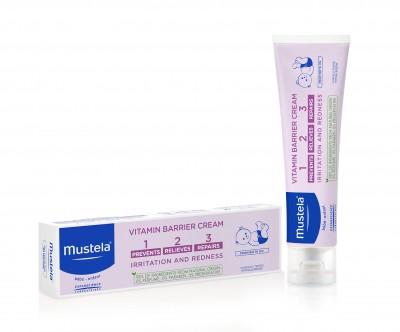 Mustela Vitamin Barrier 1 2 3 Crema Pentru Schimbatul Scutecului x 50 ml