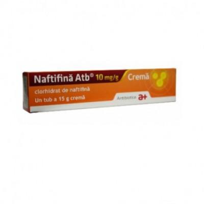 Naftifina Crema 10mg/g x 15g - Antibiotice