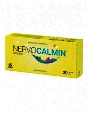Nervocalmin Somn Usor -cpr x 20 - Biofarm