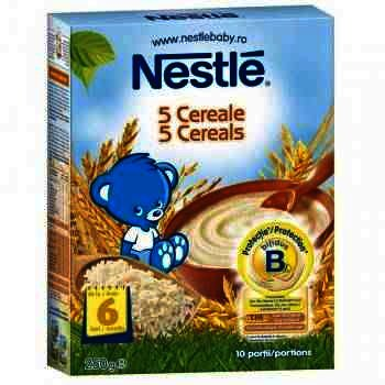 Nestle 5 Cereale x 250 g