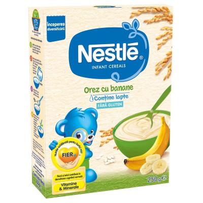 Nestle Cereale Orez cu Banane x 250