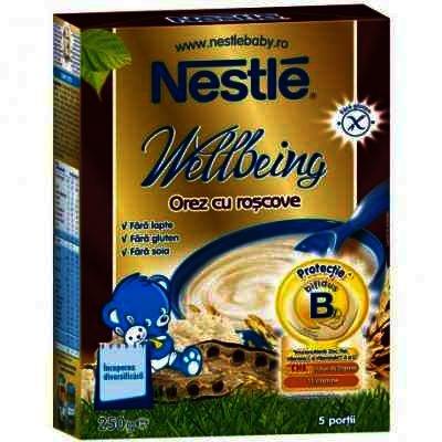 Nestle Cereale Orez cu Roscoave x 325 g
