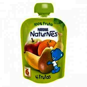 Nestle Naturnes Piure 4 Fructe x 90 g