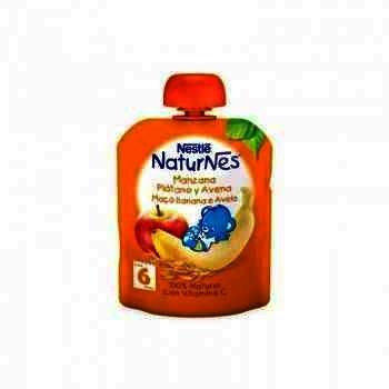 Nestle Naturnes Piure Mar, Banana, Ovaz x 90 g