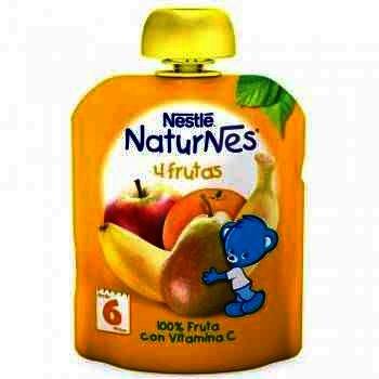 Nestle Naturnes Piure Multifruct x 90 g