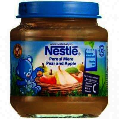 Nestle Piure Pere/Mere x 130 g
