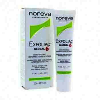 Noreva Exfoliac Global 6 Crema x 30 ml
