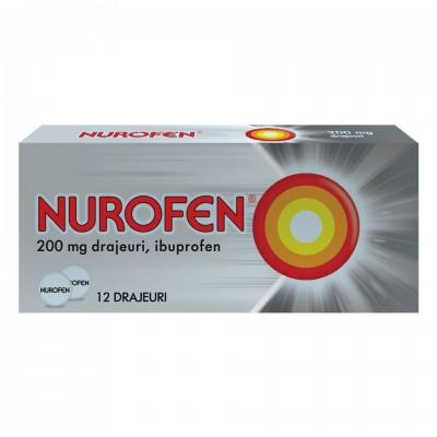 Nurofen 200 mg -drj x 12 - Reckit