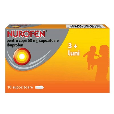Nurofen Copii 60 mg -sup x 10 - Reckit