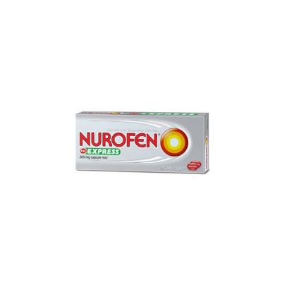 Nurofen Express 200 mg -cps.moi x 20 - Reckit