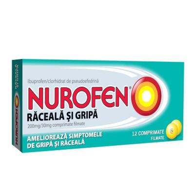 Nurofen Raceala Si Gripa -cpr.film x 12 - Reckit