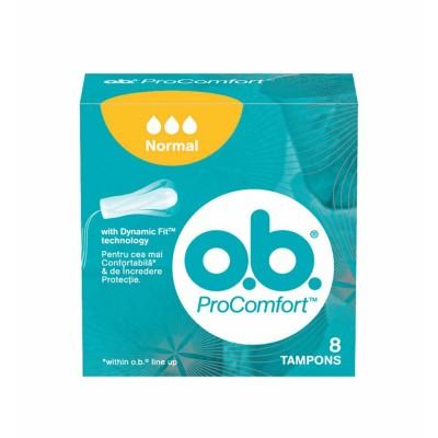 O.B. ProComfort Normal Tampoane x 8