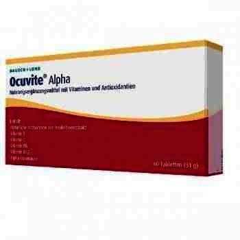 Ocuvite Alpha -cpr. x 60 - Bausch