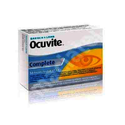 Ocuvite Complete -cps.moi x 30 - Bausch