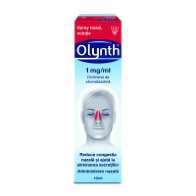 Olynth 0.1% -spray nazal x 10 ml - J&J