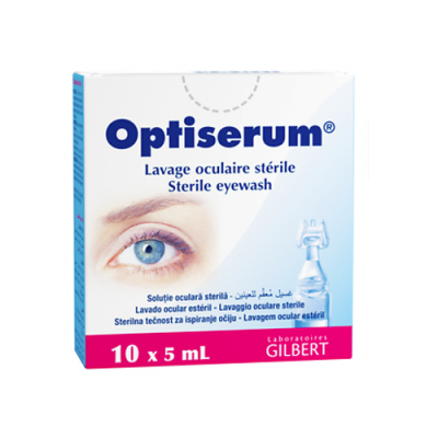 Optiserum 5 ml -sol.sterila.unidoza x 10 - Gilbert