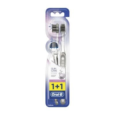 Oral B Periuta de Dinti Ultrathin Gum Care Silver (1 + 1 Oferta)
