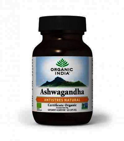 Organic India Ashwagandha Antistres Natural, 60 cps