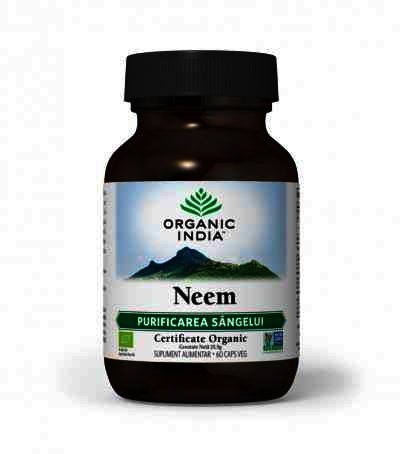 Organic India Neem, Antibiotic Natural, 60 cps.