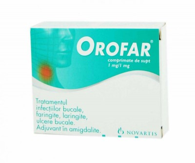 Orofar -cpr.mast x 24 - Novartis Consumer