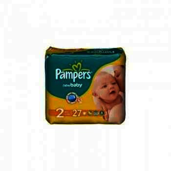 Pampers nr 2 New Baby 3-6 kg x 27