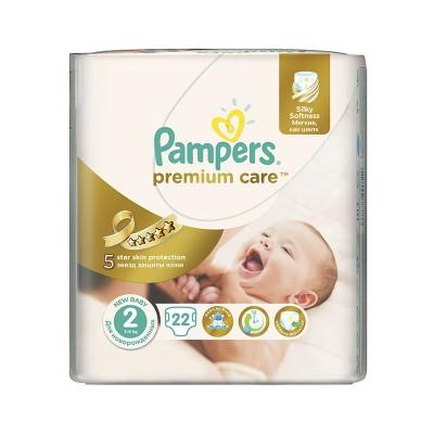Pampers Nr. 2 Premium Care Mini 3-6 kg Scutece x 22