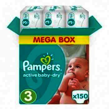 Pampers nr 3 Active Baby 4-9 kg x 57