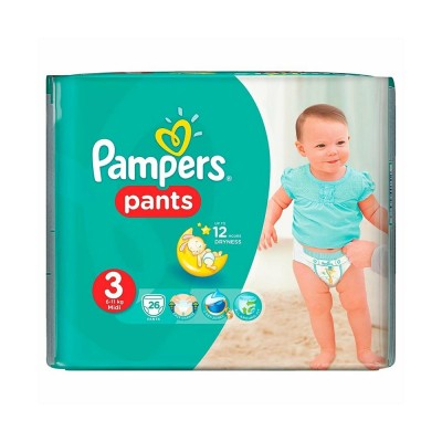 Pampers Nr. 3 Active Baby Pants 6-11 kg Scutece Chilotel x 26