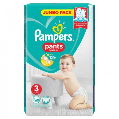 Pampers nr 3 Active Baby Pants 6-11 kg x 60