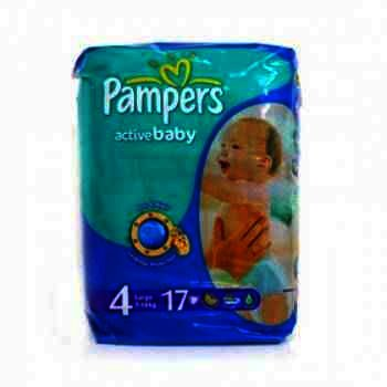 Pampers nr 4 Active Baby 7-14 kg x 20