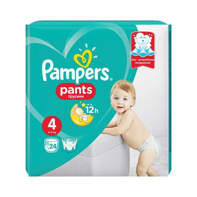 Pampers Nr. 4 Active Baby Pants 9-15 kg Scutece Chilotel x 24