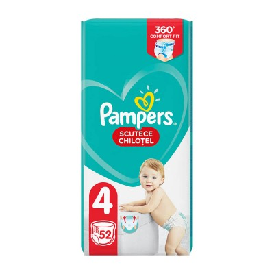Pampers Nr. 4 Active Baby Pants 9-15 kg Scutece Chilotel x 52
