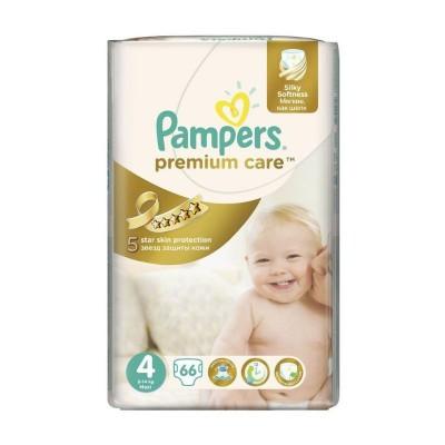 Pampers Nr. 4 Premium Care Maxi 8-14 kg Scutece x 66