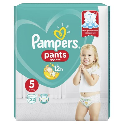Pampers nr 5 Active Baby Pants (12-17 kg) x 22