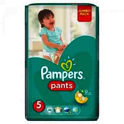 Pampers nr 5 Active Boy Junior 12-18 kg x 48