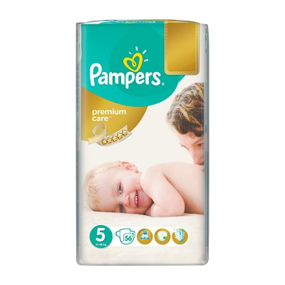 Pampers Nr. 5 Premium Care Active Baby 11-18 kg Scutece x 56